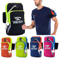 Arm Band Bag Pack Pouch Cell Phone Case Outdoor Running Sports Universal NEW