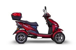 New EWheels EW-14 4-Wheel Mobility Scooter - Red
