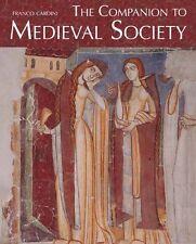 Companion Medieval Society,HC,Franco Cardini - NEW
