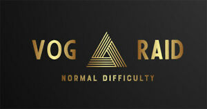 VoG raid (normal difficulty) PS4/PS5/Xbox/PC