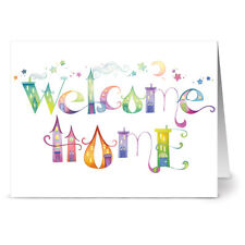 24 Note Cards - Our Town Welcome Home - Green Envs