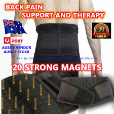 BEST QUALITY MAGNETIC BACK SUPPORT BELT BRACE - BACK PAIN ARTHRITIS THERAPY