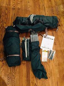 Cabelas Alaskan Guide Model 4 Person Geodesic Tent With Integrated Vestibule