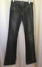 Paige Premium Denim Womens Laurel Canyon Bootcut Jeans Gray Size 24 x 35