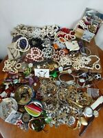 Jewelry Lot Watches Necklaces Wearable No Junk Over 5 pounds Chains Costume