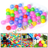 600 pcs Baby Kid Pit Toy Game Swim Pool Soft Plastic Ocean Ball 5.5cm US Stock