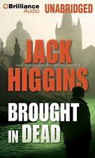 Nick Miller: Brought in Dead 2 by Jack Higgins (2012, CD, Unabridged)