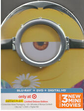 MINIONS (Blu-ray/DVD, 2014, Digital Copy, Target Limited Edition) NEW TIN CASE