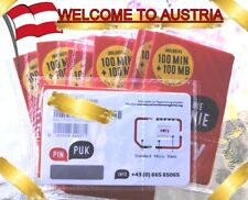 NEW! Austrian eety SIM card works in roaming with registration