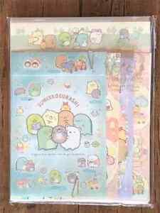 San-X  Sumikko Gurashi Letter Sheet Envelope Set Stationery Japanese  4sets Mo