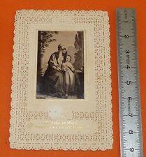 CHROMO 1890-1910 IMAGE PIEUSE CATHOLICISME HOLY CARD VIERGE MARIE ET ANNE MERE