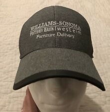 Williams Sonoma Pottery Barn West Elm Furniture Delivery Gray Hat Cap Adjustable