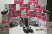 Alegria Tuscany Mary Jane Slides Slip On Black Metallic Size 41 US 10.5