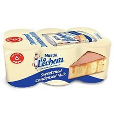 New ! 6 Cans 14oz each  Nestle La Lechera Sweetened Condensed Milk