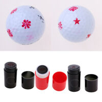 3 Pieces Golf Ball Stamper Golfer Stamp Training Aids Golf Stamp Marker