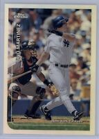 1999 Topps Chrome Tino Martinez Refractor #290 NY Yankees Rare