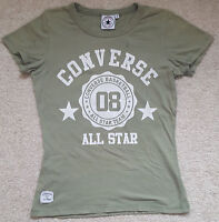 Converse All Star T Shirt Tee Top Short Sleeves Chuck Taylor Basketball Size 12