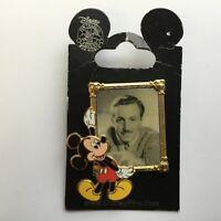 Mickey and Walt Disney's Portrait - Disney Pin 46925