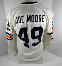1971-73 Chicago Bears Joe Moore #49 Game Used White Jersey
