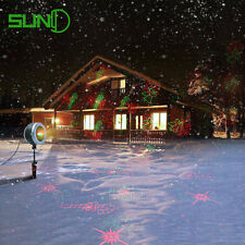 SUNY Red Green Laser Light 3 Aperture Outdoor Garden 16 Xmas Gobos OBG-H161RGR-X