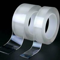 Double-sided Adhesive Nano Tape Washable Removable Tapes Gel Grip K1I9