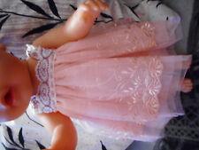 Puppenkleidung 2 teiliges set Kleid  42-44 cm, passt der Baby Born Puppe
