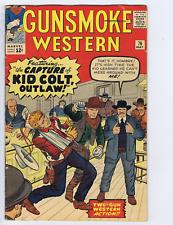 Gunsmoke Western #76 Marvel Pub 1963