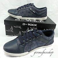 """Chaussures Homme,D Rock G Urban Baskets,Hip Hop Jeans,Bleu """" Rue -star """" 14310"""