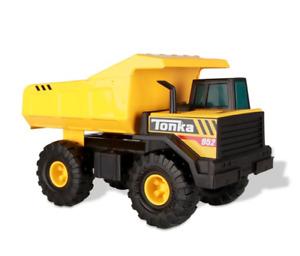 Tonka Steel Classics Mighty Dump Truck Construction Vehicle