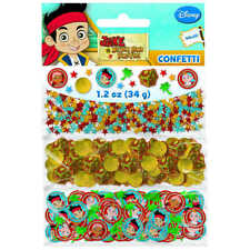 Jake and the Never Land Pirates Value Confetti Decorations Party Suplies Favors
