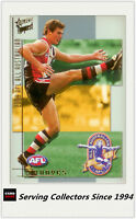 2004 Select AFL Conquest All Australia Team Card AA7 Lenny Hayes (St. Kilda)
