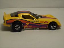1977 VINTAGE HOT WHEELS ~ GOODYEAR RACE CAR #2 ~ CHROME MAGS ~ IN GOOD CONDITION