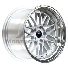 18X8 5X110 JNC 005 WHITE MACHINE made for PONTIAC DODGE SATURN SAAB