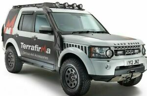 Land rover Discovery 3, 4 Terrafirma Wheels, General Grabber AT3 Tyres 255 60 18