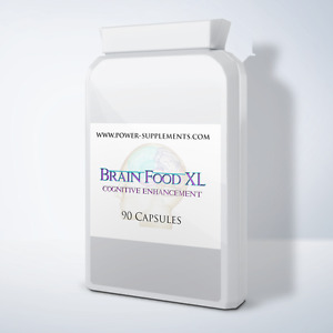 Brain Food XL - Cognitive Enhancement Supplement - 3 Month Supply (90 pills)