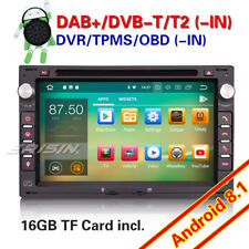 DAB+Car stereo Android 8.1 CD For VW POLO GOLF MK4 T5 TRANSPORTER SUPERB SEAT