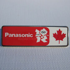 2012 London Olympic Panasonic Canada Pin