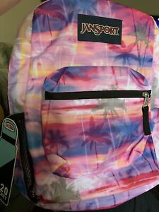Jansport Cross Town Palm Paradise Backpack Men/ Women's