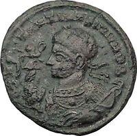 CONSTANTINE II Jr Constantine the Great  son Ancient Roman Coin Vexillum i32419