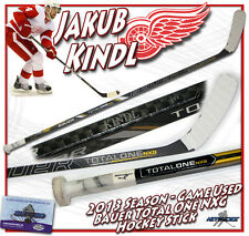 JAKUB KINDL Game Used Stick DETROIT RED WINGS BAUER NXG w/COA