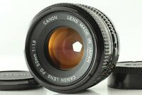 [Exc+++++] Canon New FD 50mm f1.8 MF NFD Film camera Lens  From JAPAN #105