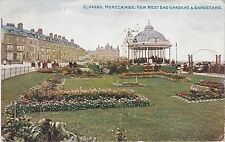 New West End Gardens & Bandstand, MORECAMBE, Lancashire