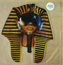 ZZ TOP SLEEPING BAG Shaped VINYL Picture Pic Disc