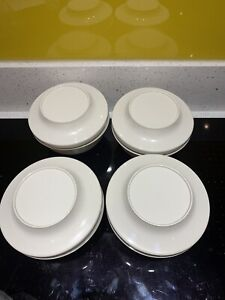 Tupperware Vintage Oyster Oriental Set Of 4 Bowls With Lids NOS NEW