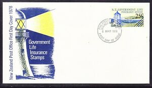 New Zealand 1978 Government Life Insurance First Day Cover