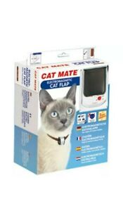 Cat Mate Electromagnetic Cat Flap - White