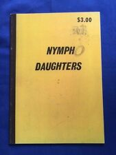 NYMPH DAUGHTERS - FIRST EDITION BY TODD HIDO