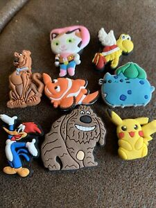 New Fun Silicone Novelty Set Of 8 Cartoon Animals Kids Decorative MINI Magnets