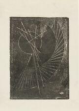 Untitled, 1919, Alexander Rodchenko Vintage Constructivism Poster