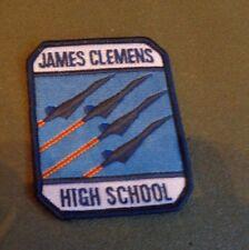 JUNIOR ROTC PATCH, JAMES CLEMENS HIGH SCHOOL, MADISON ALABAMA